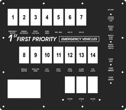 FAC-02083, 1st Priority Emergency Vehicles