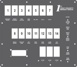 FAC-02461, 1st Priority Emergency Vehicles