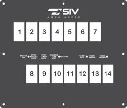 FAC-02892. SIV Ambulances