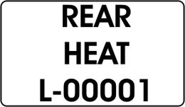 REAR / HEAT