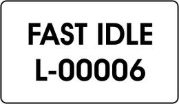 FAST IDLE
