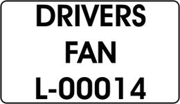 DRIVERS / FAN