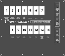 FAC-01807, 1st Priority Emergency Vehicles