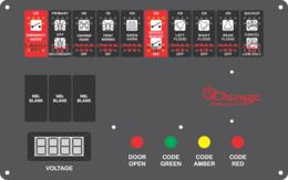 Osage Ambulance Dash Switch, Type 2