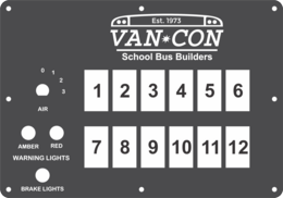 FAC-02420, Van Con School Bus Builders