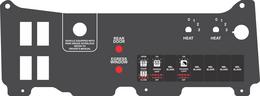 PT Freightliner Dual Heater w/ Indicators, NO A/C